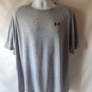 Under Armour men's gray short-sleeve t-shirt